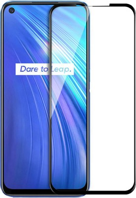 Flipkart SmartBuy Edge To Edge Tempered Glass for Realme 6, Realme 6i(Pack of 1)