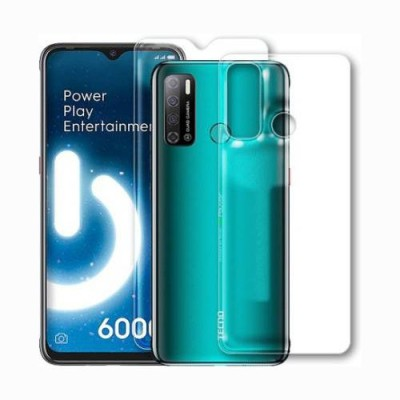 Fashion Way Front and Back Screen Guard for TECNO SPARK POWER 2(Pack of 2)