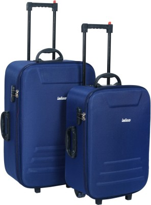LeeRooy TROLLEYBA GBLUE Cabin   Check in Luggage   22 inch LeeRooy Suitcases