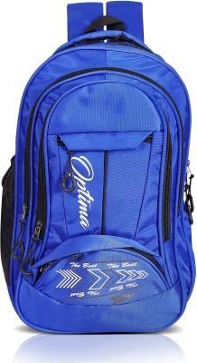 OPTIMA Multi Zipper 28 L Laptop Backpack(Blue)