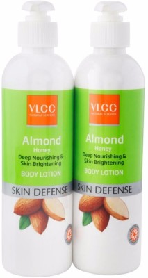 VLCC Almond Honey Deep Nourishing & Skin Brighteneing Body Lotion(700 ml)