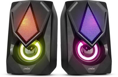 artis S21 5 W Laptop/Desktop Speaker(Black, 2.0 Channel)