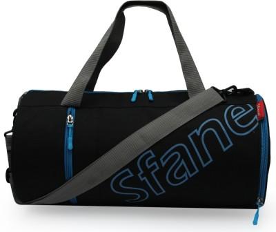 Sfane Men & Women Blue Sports Duffel with Shoe Compartment & Detachable Belt Gym Duffel Bag