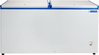Blue Star 484 L Double Door Standard Deep Freezer(White, Blue,...