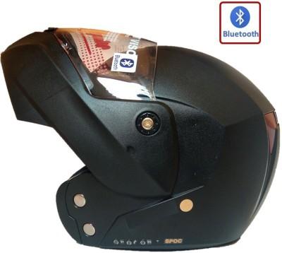 Wrangler Flyp Bluetooth Helmet Motorbike Helmet(Black)