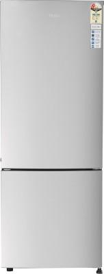 Haier 320 L Frost Free Double Door Bottom Mount 2 Star  2020  Refrigerator Moon Silver, HRB 3404BMS E Haier Refrigerators