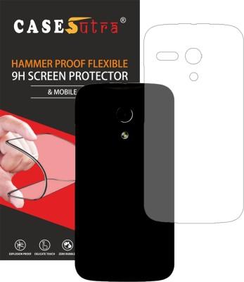 CASESUTRA Back Screen Guard for Motorola Moto G(Pack of 1)