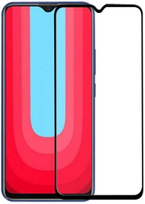 Cover Alive Tempered Glass Guard for Vivo U20, Vivo Y19(Pack of 1)