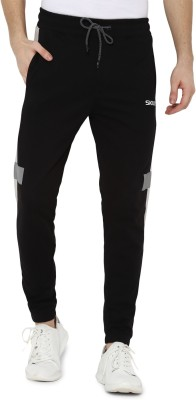 SKULT by Shahid Kapoor Regular Fit Men Black Trousers