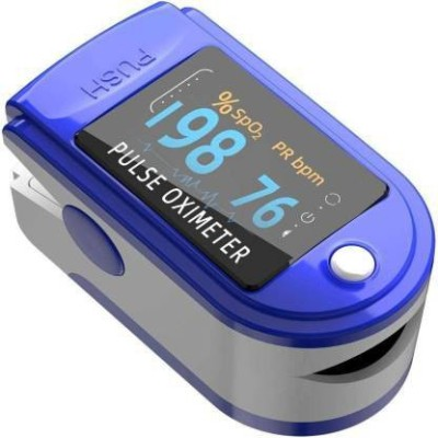 LANDWIND New Improved Instant Read OLED Digital Finger Pulse Oximeter Spo2h Blood Oxygen Monitor Arterial Saturation Monitor Pulse Oximeter(Blue)