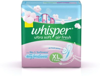 Whisper Ultra Soft XL Wings Sanitary Pad(Pack of 7)