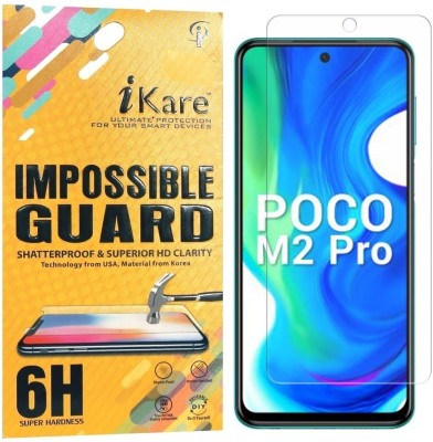 iKare Impossible Screen Guard for Poco M2 Pro(Pack of 1)