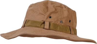 ZACHARIAS Cotton Hat with Chincord(Brown, Pack of 1)