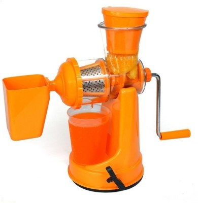 Luximal 1 Fruit And Vegetable Mixer Juicer With Waste Collector 0 Juicer(Orange, 1 Jar)