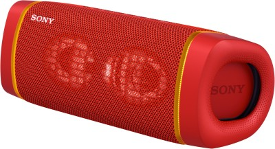 SONY SRS-XB33 Bluetooth Speaker(Red, Stereo Channel)