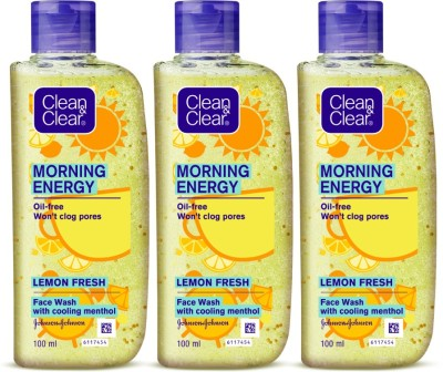 Clean & Clear Morning Energy Lemon Fresh Facewash Face Wash (300 ml)