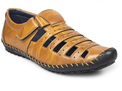 VKF Men Tan Sandals
