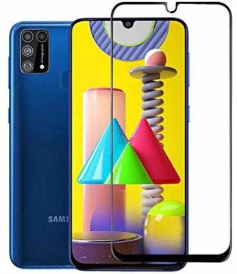 Express Buy Edge To Edge Tempered Glass for Samsung Galaxy M31(Pack of 1)