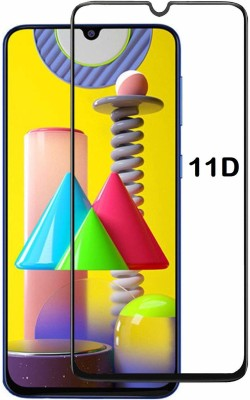Ravbelli Edge To Edge Tempered Glass for SAMSUNG Galaxy M31(Pack of 1)