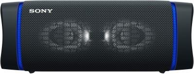 Sony SRS-XB33 Bluetooth Speaker(Black, Stereo Channel)