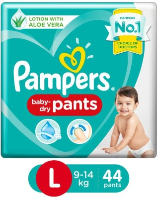 Pampers Diapers Pants   L 44 Pieces Pampers Baby Diapers