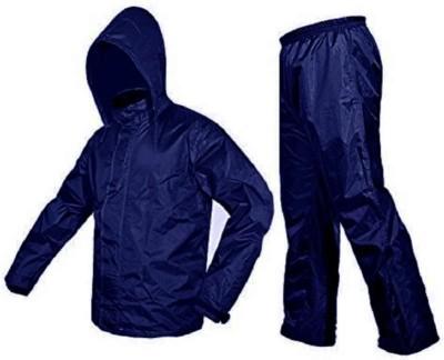 Arumart Solid Men & Women Raincoat