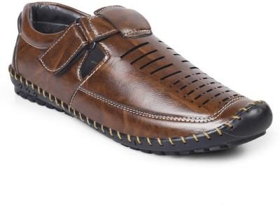 VKF Men Brown Sandals
