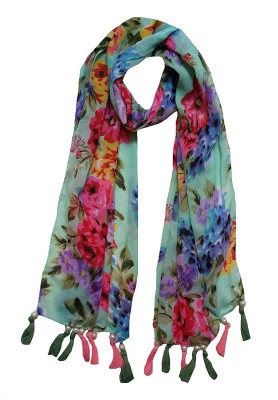 FABS Collection Printed Polycotton Girls Stole, Scarf, Fancy Scarf