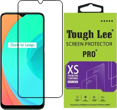 TOUGH LEE Edge To Edge Tempered Glass for Realme Narzo 30a, Realme Narzo 20, Realme Narzo 20A, Realme C11, Realme C12, Realme C15, Realme C3, Realme 5, Realme 5i, Realme 5s, Oppo A9 2020, Oppo A5 2020, Realme Narzo 10, Realme Narzo 10A, Oppo A31(Pack of 1)