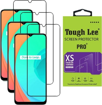 Tough Lee Edge To Edge Tempered Glass for Realme Narzo 30a, Realme Narzo 20, Realme Narzo 20A, Realme C11, Realme C12, Realme C15, Realme C3, Realme 5, Realme 5i, Realme 5s, Oppo A9 2020, Oppo A5 2020, Realme Narzo 10, Realme Narzo 10A, Oppo A31(Pack of 3)