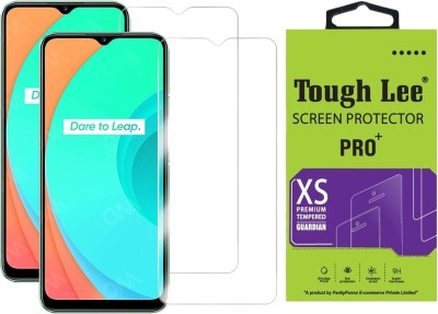 Tough Lee Tempered Glass Guard for Realme Narzo 30a, Realme Narzo 20, Realme Narzo 20A, Realme C11, Realme C12, Realme C15, Realme C3, Realme 5, Realme 5i, Realme 5s, Oppo A9 2020, Oppo A5 2020, Realme Narzo 10, Realme Narzo 10A, Oppo A31(Pack of 2)