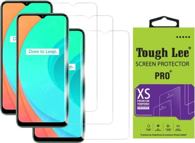 Tough Lee Tempered Glass Guard for Realme Narzo 30a, Realme Narzo 20, Realme Narzo 20A, Realme C11, Realme C12, Realme C15, Realme C3, Realme 5, Realme 5i, Realme 5s, Oppo A9 2020, Oppo A5 2020, Realme Narzo 10, Realme Narzo 10A, Oppo A31(Pack of 3)