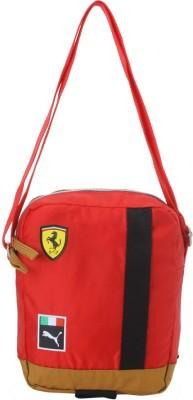 Puma Men   Women Red Sling Bag