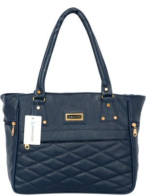 Element Cart Women Blue Hand-held Bag