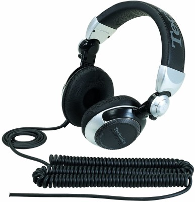 Panasonic RP-DJ1210E-S Wired Headset(Silver, On the Ear)