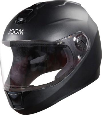 Steelbird SBH-11 ZOOM DASHING Motorbike Helmet(Black)
