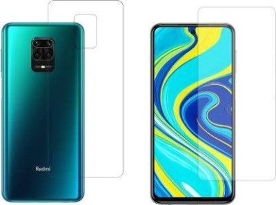 FINCH Front and Back Screen Guard for REDMI NOTE 9 PRO(Pack of 2)