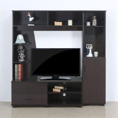 @home by Nilkamal Styles Engineered Wood TV Entertainment Unit(Finish Color - Walnut)