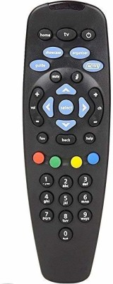 tatasky STANDARD UNIVERSAL SD AND HD TATASKY Remote Controller Black
