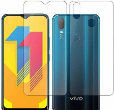 FINCH Front and Back Screen Guard for VIVO Y11(Pack of 2)