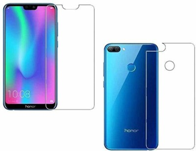 ELEF Front and Back Tempered Glass for Honor 9N(Pack of 2)