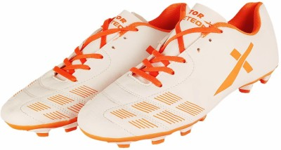 Vector X Meteor Football Shoe Football Shoes For Men White, Orange Vector X Sports Shoes