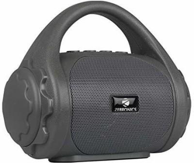 Zebronics Zeb-County Bluetooth Speaker with Built-in FM Radio, Aux Input 3 W Bluetooth Speaker(Grey, Mono Channel)