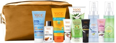 VLCC Nourish & Shine Kit with Pouch(9 Items in the set)
