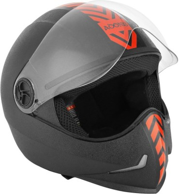 Steelbird SB-50 Adonis Dashing Motorbike Helmet(Red, Black)