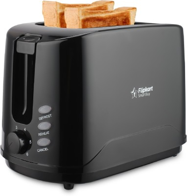 Flipkart SmartBuy Premium TA 1022 750 W Pop Up Toaster  (Black)