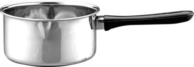 Pigeon Glaze saucepan 14cm Sauce Pan 14 cm diameter 1000 L capacity(Stainless Steel, Induction Bottom)