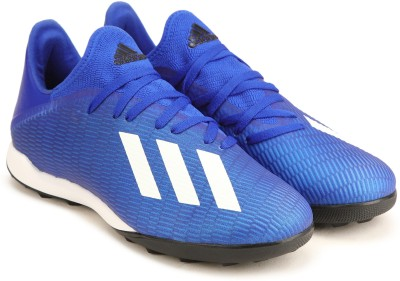 ADIDAS X 19.3 TF Football Shoe For Men Blue ADIDAS Sports Shoes
