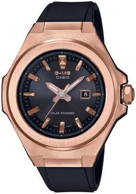 Casio BX182 (MSG-S500G-1ADR) Baby-G Analog Watch - For Women