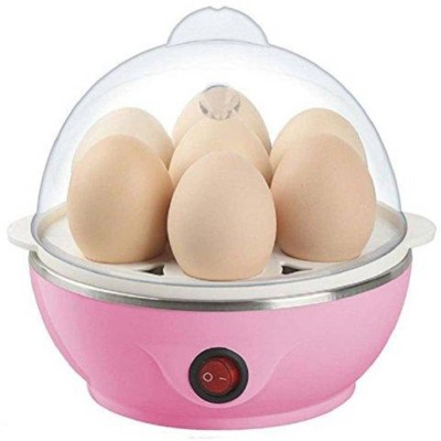 Prisha Enterprise Stainless Steel 7 Egg Cooker, Egg Boiler, Egg Steamer, Egg Boiler Electric Automatic Off for Steaming, Cooking, Boiling...